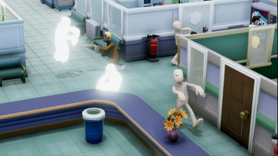 Screen ze hry Two Point Hospital