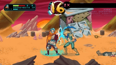 Screen ze hry Way of the Passive Fist