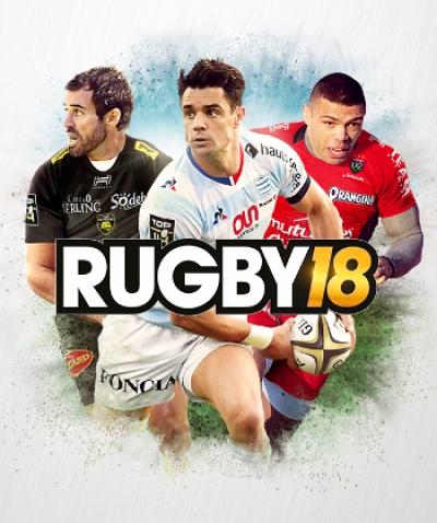 Artwork ke hře Rugby 18
