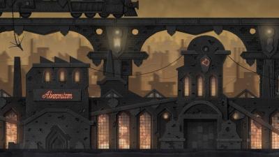 Screen ze hry Dark Train