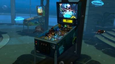 Screen ze hry Pinball FX2 VR