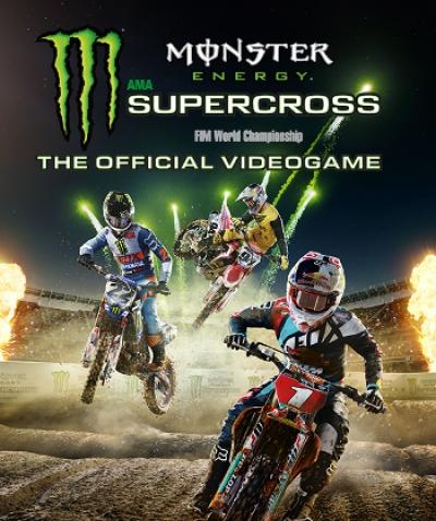Artwork ke hře Monster Energy Supercross: The Official Videogame