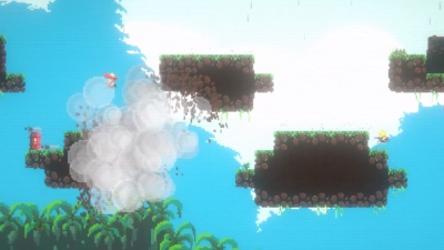 Screen ze hry Jump Gunners