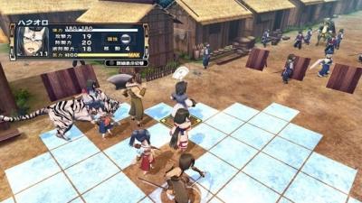 Screen ze hry Utawarerumono: Chiriyuku Mono e no Komoriuta