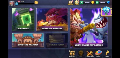 Screen ze hry Tactical Monsters Rumble Arena
