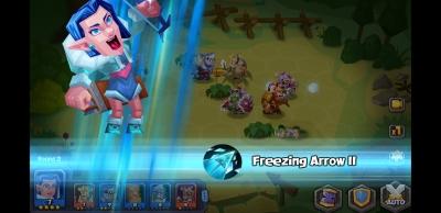 Screen ze hry Tactical Monsters Rumble Arena
