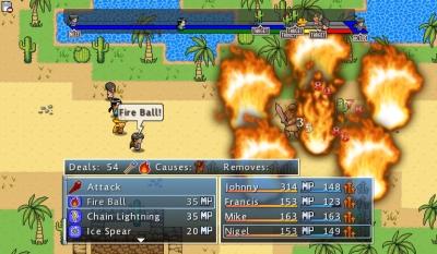 Screen ze hry Doom and Destiny Advanced