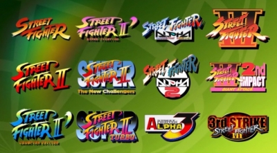 Artwork ke hře Street Fighter 30th Anniversary Collection