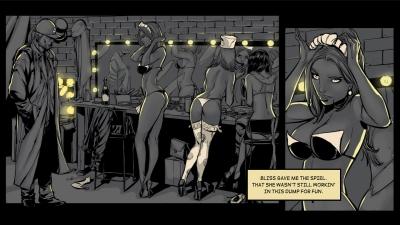 Screen ze hry Metropolis: Lux Obscura