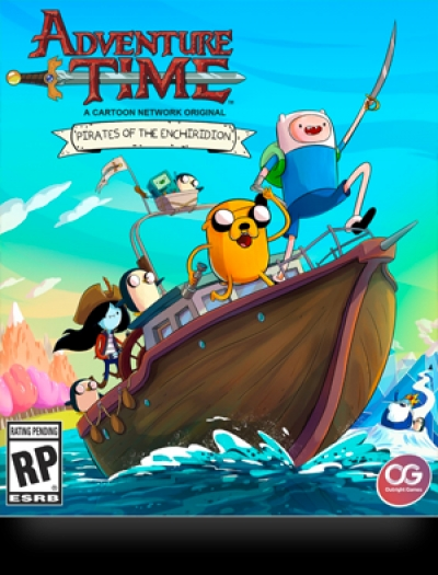 Artwork ke hře Adventure Time: Pirates of the Enchiridion