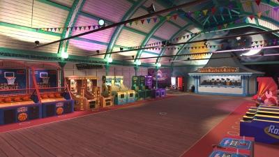 Screen ze hry The Pierhead Arcade