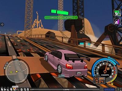 Screen Drift City