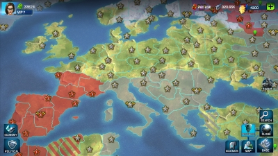 Screen ze hry War Planet Online: Global Conquest