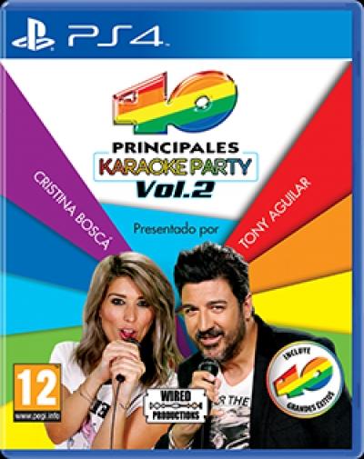 Artwork ke hře Los 40 Principales: Karaoke Party Vol. 2