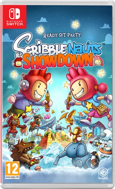 Artwork ke hře Scribblenauts Showdown