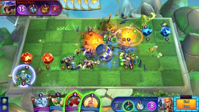Screen ze hry Hero Academy 2