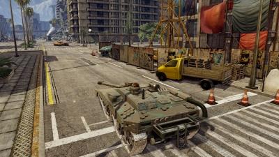 Screen ze hry Infinite Tanks