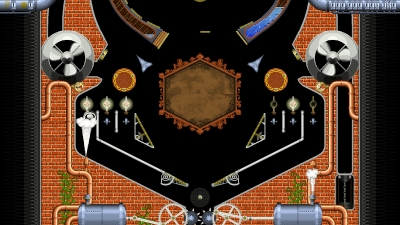 Screen ze hry Super Steampunk Pinball 2D