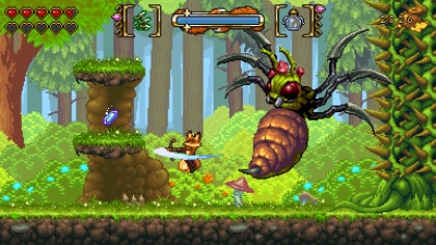 Screen ze hry Fox n Forests