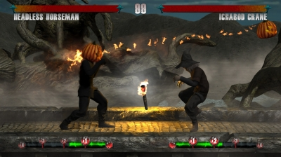 Screen ze hry Clash of the Monsters