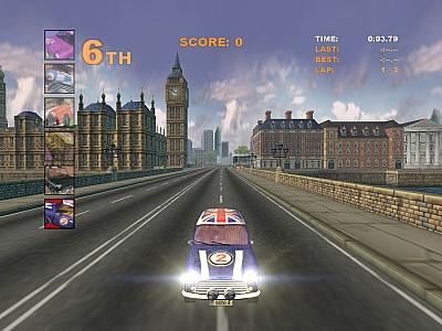 Screen ze hry Austin Cooper S Racing