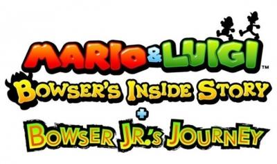 Artwork ke hře Mario and Luigi: Bowser´s Inside Story plus Bowser Jr.´s Journey