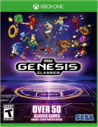 Artwork ke hře Sega Genesis Classics