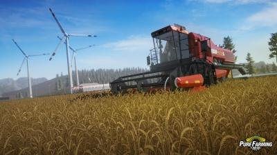 Screen ze hry Pure Farming 2018