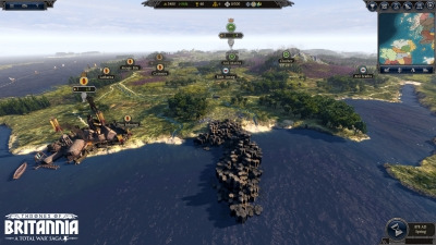 Screen ze hry Total War Saga: Thrones of Britannia