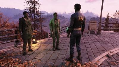 Screen ze hry Fallout 76