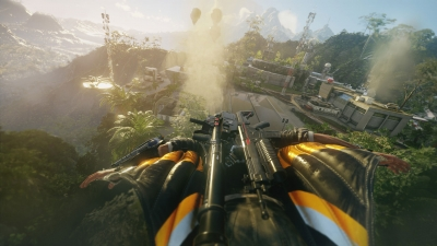 Screen ze hry Just Cause 4