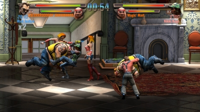 Screen ze hry Raging Justice