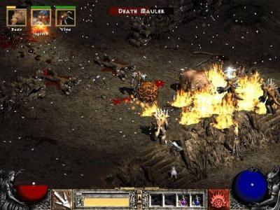 Screen ze hry Diablo II