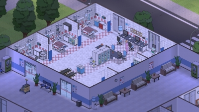Screen ze hry Project Hospital