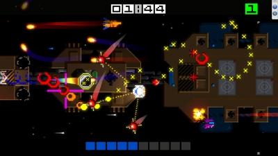 Screen ze hry Hyper Sentinel
