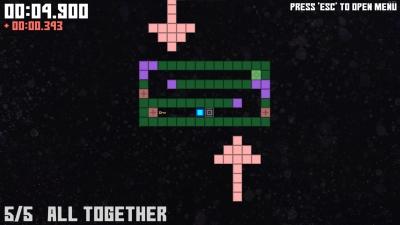 Screen ze hry Gravity