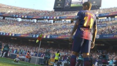 Screen ze hry Pro Evolution Soccer 2019