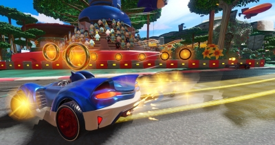 Artwork ke hře Team Sonic Racing