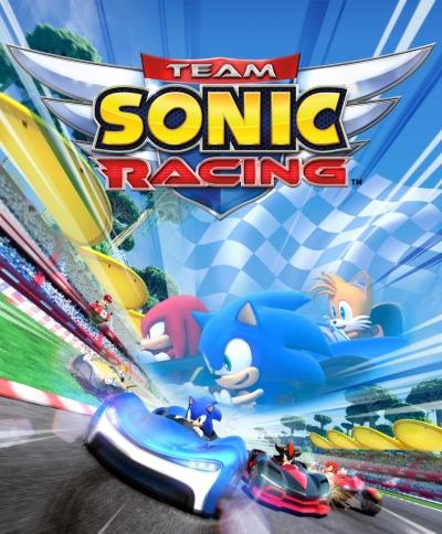 Artwork ke hře Team Sonic Racing