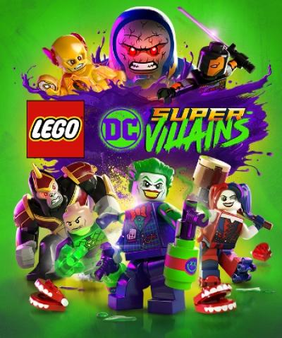 Artwork ke hře LEGO DC Super-Villains