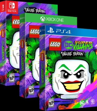 Artwork ke hře LEGO DC Super-Villains