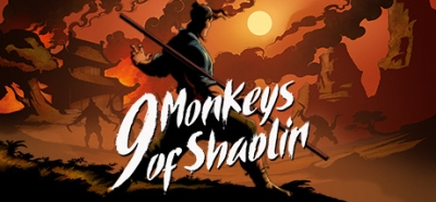 Artwork ke hře 9 Monkeys of Shaolin