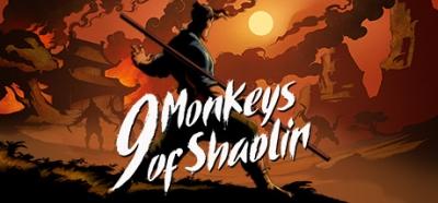 Artwork ke hře 9 Monkeys of Shaolin