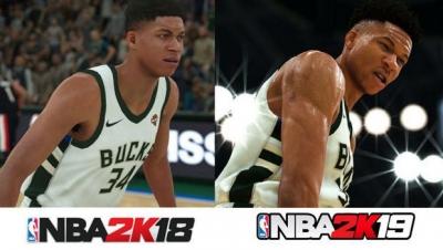 Artwork ke hře NBA 2K19