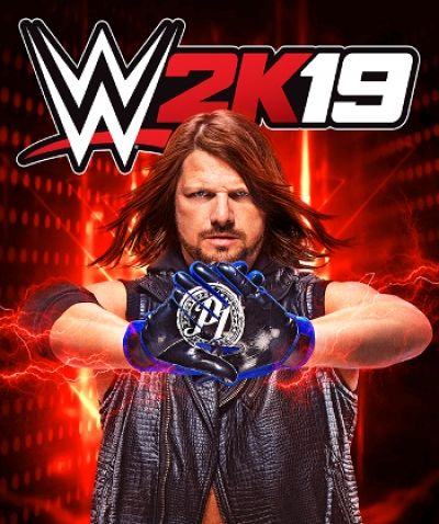 Artwork ke hře WWE 2K19