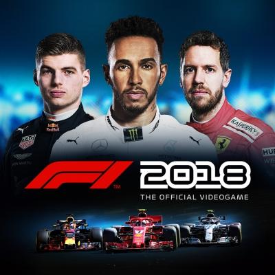 Artwork ke hře F1 2018