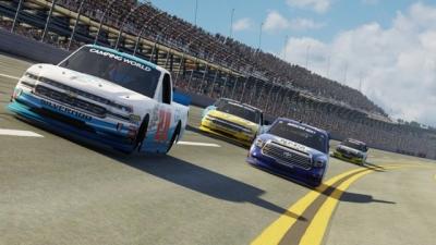 Artwork ke hře NASCAR Heat 3