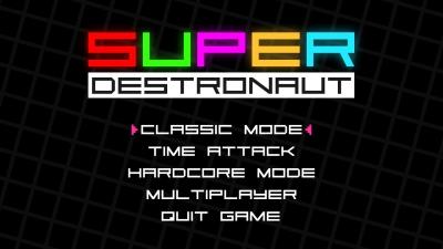 Screen ze hry Super Destronaut