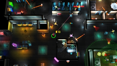 Screen ze hry Neon Chrome