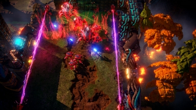 Screen ze hry Nex Machina